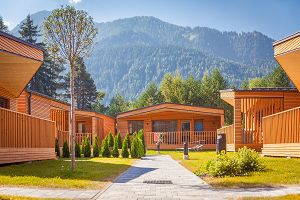 Glamping: Alpine Lodges am Camping Olympia