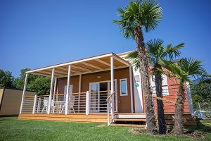 Glamping: Bungalow PALMA 4 auf Camping Campofelice