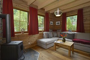 Glamping: Ferienhaus Deluxe am Seecamping Berghof