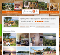 Screenshot Glamping.Info Fotos