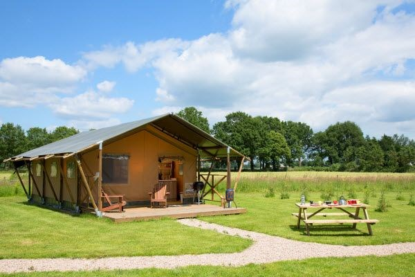 Glamping in Ferienparks