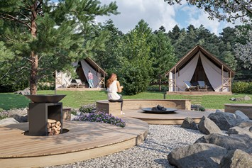 Glampingunterkunft: Lakeside romantic Tent im Lakeside Petzen Glamping Resort