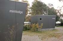 Luxuscamping: Unsere Minilodges stehen in der Nähe des Bodensees. - Minilodges Camping Park Gohren