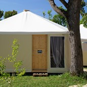 Luxuscamping: Glamping-Zelte bei Venedig - Glampingzelte auf Camping Rialto