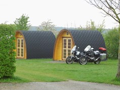 Luxuscamping - Bayern - Camping-Pod auf Camping Paradies Franken