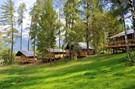 "Luxuscamping - Art der Unterkunft: Lodgezelt - Tiroler Unterland - Safari-Lodge-Zelt ""Lion"" am Nature Resort Natterer See"