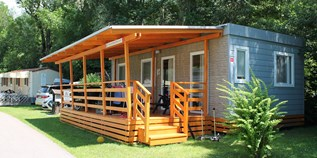 Luxuscamping - Gebetsroither - Luxusmobilheim von Gebetsroither am Camping Burgstaller