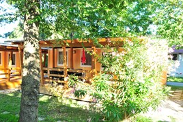 Luxuscamping - WC - Venetien - Luxusmobilheim von Gebetsroither am Camping San Francesco