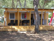 Luxuscamping: Luxusmobilheim von Gebetsroither am Camping Orbetello