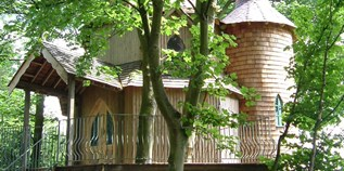 Luxuscamping - Edinburgh and Glasgow - Fernie Castle Treehouse