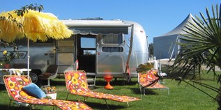 Luxuscamping - Ariège - Airstream für 4 Personen am Retro Trailer Park