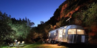 Luxuscamping - Swimmingpool - Andalusien - Glamping Airstream
