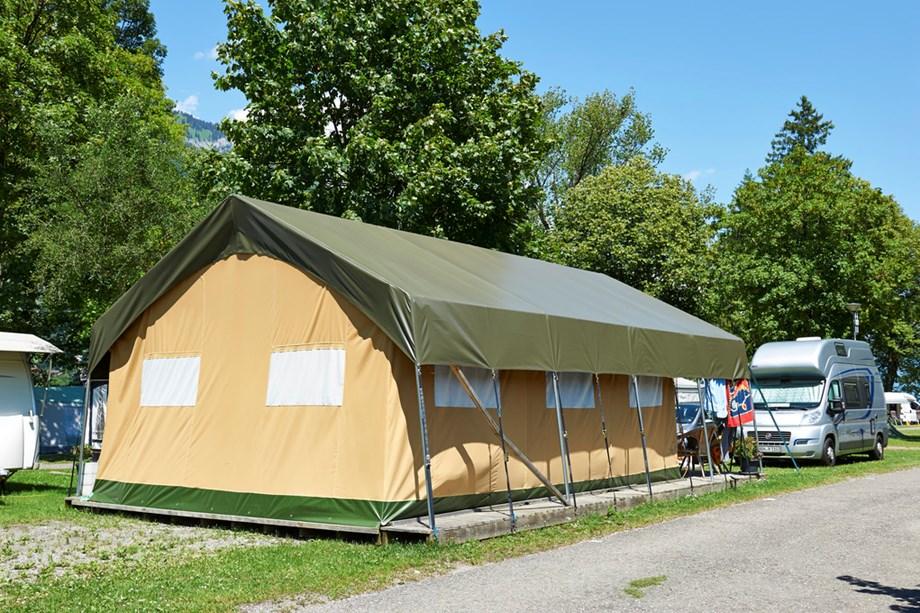 Zelt Auf Was Achten : Safari zelt auf tcs camping bönigen interlaken ihre