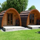 Luxuscamping: Pods auf TCS Camping Buochs Vierwaldstättersee