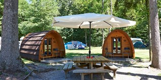 Luxuscamping - Genf & Waadt - Pods auf TCS Camping Gampelen Neuenburgersee