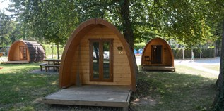 Luxuscamping - W-Lan - Haut-Savoie - Pods auf TCS Camping Genf Vésenaz