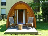Luxuscamping: Pods auf TCS Camping Interlaken