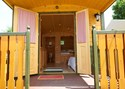 Luxuscamping - WC - Solothurn - Nostalgiewagen auf TCS Camping Solothurn