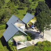 Luxuscamping: Cabanes auf TCS Camping Solothurn