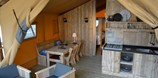 Luxuscamping - W-Lan - Nordwestschweiz - Safari-Zelt Deluxe auf TCS Camping Solothurn