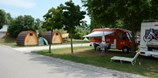 Luxuscamping - W-Lan - Nordwestschweiz - Pods auf TCS Camping Solothurn
