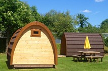 Luxuscamping: Pods auf TCS Camping Solothurn