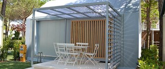 Luxuscamping: Camping Home Veranda Medium auf Union Lido