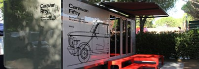 Luxuscamping: Caravan Fifty auf Union Lido