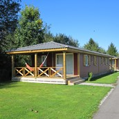 Luxuscamping: Bungalow auf TCS Camping Sempach