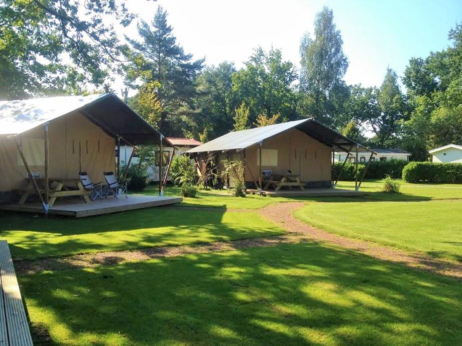 Zelt Auf Was Achten : Safari zelt auf camping vreehorst ihre