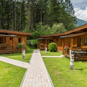 Luxuscamping: Alpine Lodges auf Camping Ötztal
