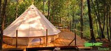 Luxuscamping - Portugal - Glamour Bell Tent von Lima Escape