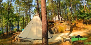 Luxuscamping - Portugal - Tipi von Lima Escape