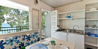 Luxuscamping - Art der Unterkunft: Bungalow - Bardolino - Bungalow am See Ametista 4 Pers. auf Camping Cisano