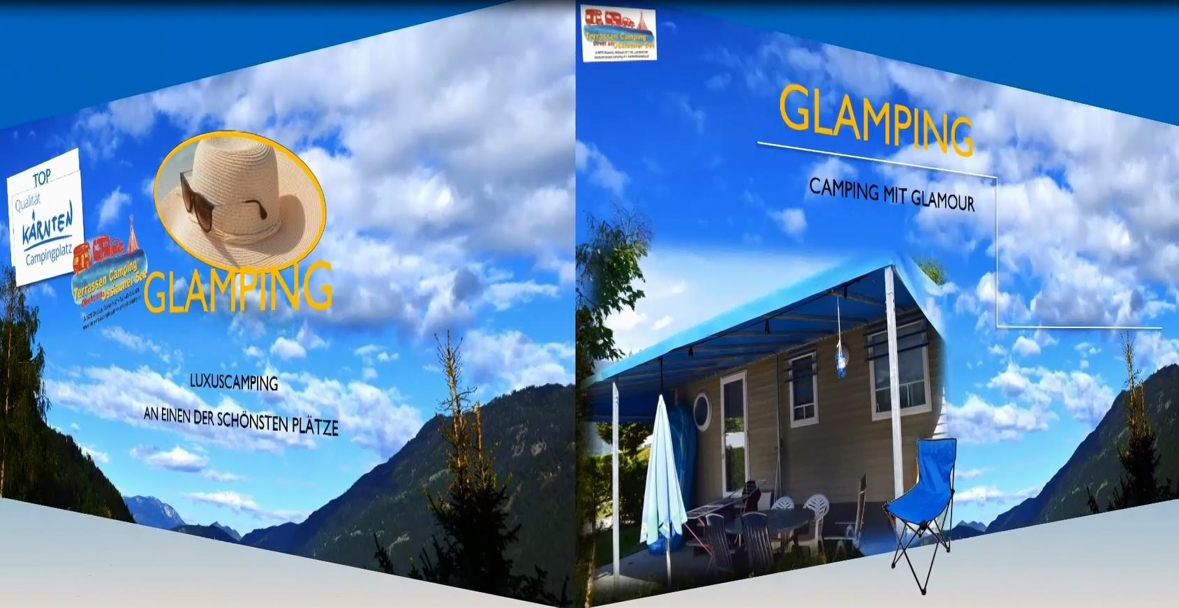 Mobilheime Ossiacher See : Mobilheime mit terrassen am terrassen camping ossiacher see ihre