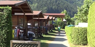 Luxuscamping - Kärnten - Bungalow mit Terrassen am Camping Ossiacher See