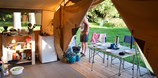 Luxuscamping - Swimmingpool - Brignoles - Zelt Toile & Bois Sweet auf Camping Huttopia Gorges du Verdon