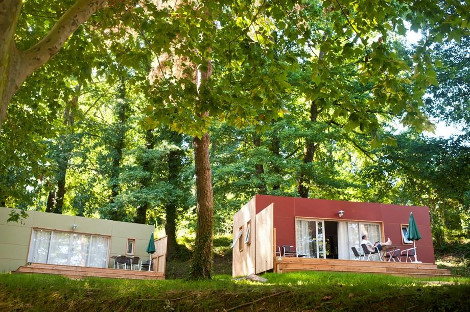 mobilheim indigo auf camping huttopia gorges du verdon ihre glampingunterkunft in frankreich. Black Bedroom Furniture Sets. Home Design Ideas