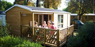 Luxuscamping - Bracieux - Cottage für 6 Personen auf Camping Huttopia Les Chateaux