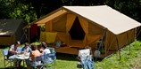 Luxuscamping - Loire - Zelt Toile & Bois Classic für 5 Pers. auf Camping Indigo Lyon