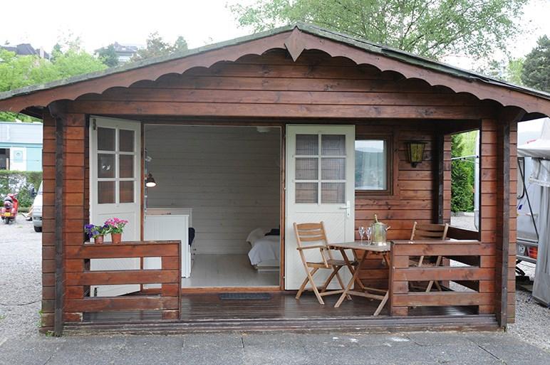 Cottage auf Camping Zürich   Ihre Glampingunterkunft in Schweiz