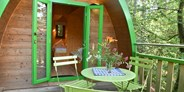 Luxuscamping - Franken - Penthouse-POD am Waldcamping Brombach