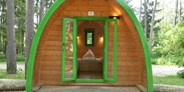 Luxuscamping - Franken - Family-POD am Waldcamping Brombach