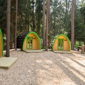 Luxuscamping: Family-POD am Waldcamping Brombach