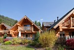 Luxuscamping - Terrasse - Italien - Chalets auf Camping Residence Chalet CORONES