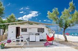 Luxuscamping - Griechenland - Mietwohnwagen auf Armenistis Camping & Bungalows