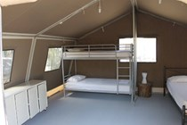 Luxuscamping: Armenistis CampTent - CampTent auf Armenistis Camping & Bungalows