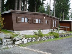 Luxuscamping - Rheintal / Flims - Holzchalet auf Camping St. Cassian