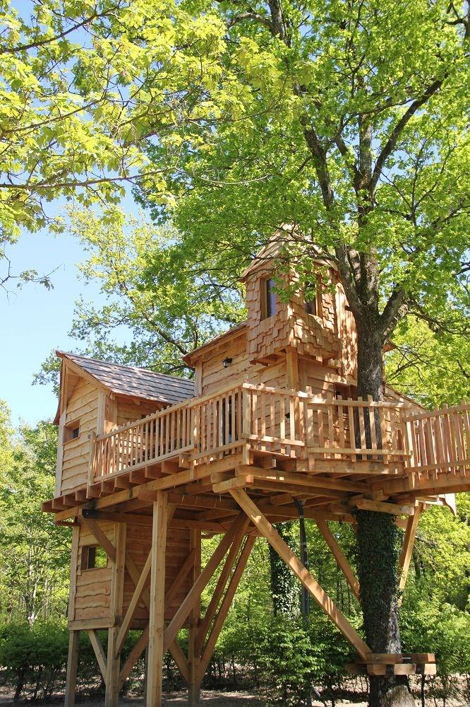 Baumhaus Frankreich baumhaus auf domaine de la dombes ihre glingunterkunft in