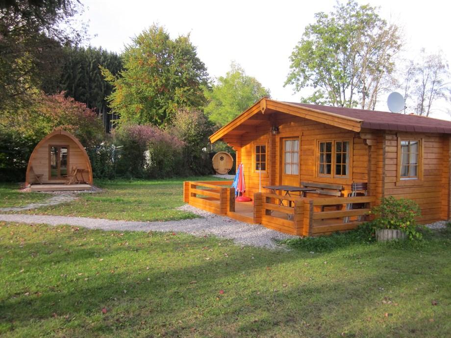 blockh tte auf camping via claudia ihre. Black Bedroom Furniture Sets. Home Design Ideas